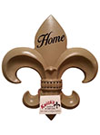 Fleur de Lis Wall Plaque - French Beige
