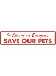 Save Our Pets Signs