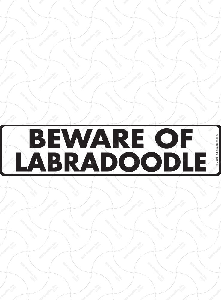 Beware of Labradoodle Signs