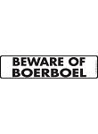 Beware of Boerboel Sign and Sticker - 12