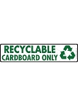 Recyclable Cardboard Signs or Sticker - 12