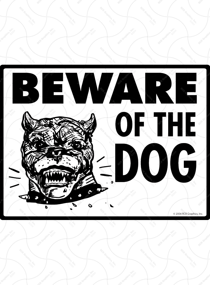 Beware of Pit Bull Signs