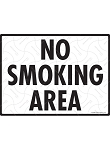 No Smoking Area Sign - 12