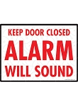 Keep Door Closed Sign - 12