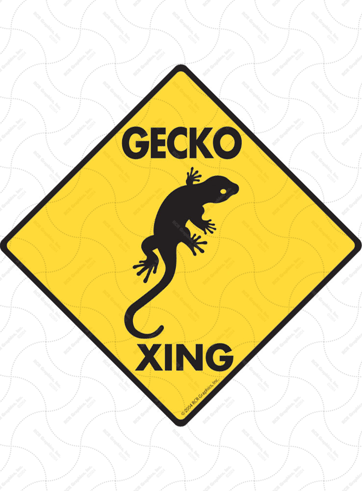 Gecko Xing Signs