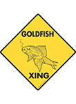 Goldfish Xing Signs