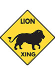 Lion Xing Signs