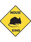 Mouse Xing Signs