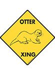 Otter Xing Signs