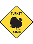 Turkey Xing Signs