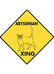 Abyssinian Xing Signs