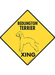 Bedlington Terrier Xing Signs