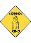 Groundhog Xing Signs