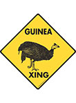 Guinea Xing Signs