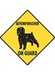 Affenpinscher On Guard Signs
