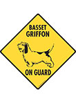 Basset Griffon On Guard Signs