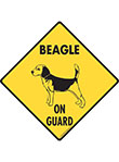 Beagle On Guard Signs