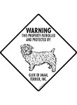 Glen of Imall Terrier! Property Patrolled Signs and Sticker