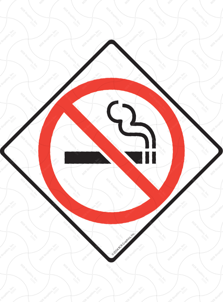 No Smoking (Symbol) Signs and Sticker