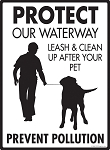 Protect Our Waterway Signs
