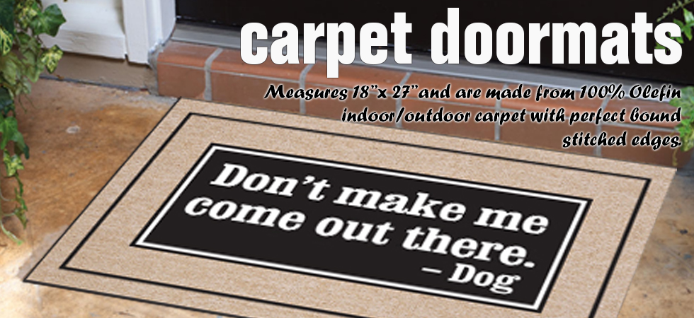 dog sign, personalized sign, doormat