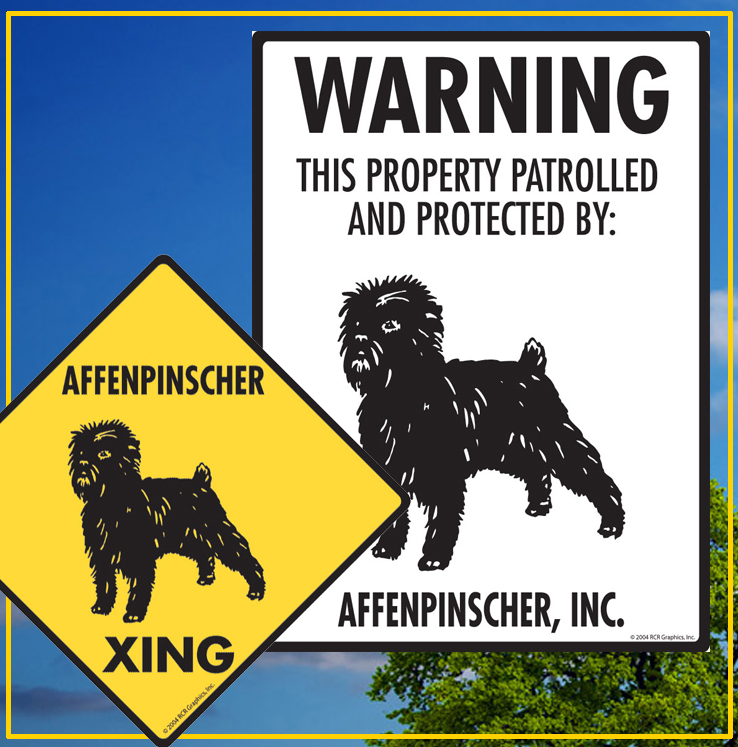 Affenpinscher Dog Signs