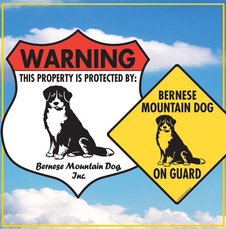 Bernese Mountain Dog Signs