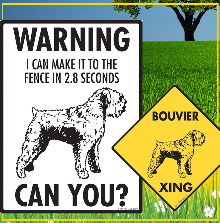 Bouvier des Flandres Dog Signs