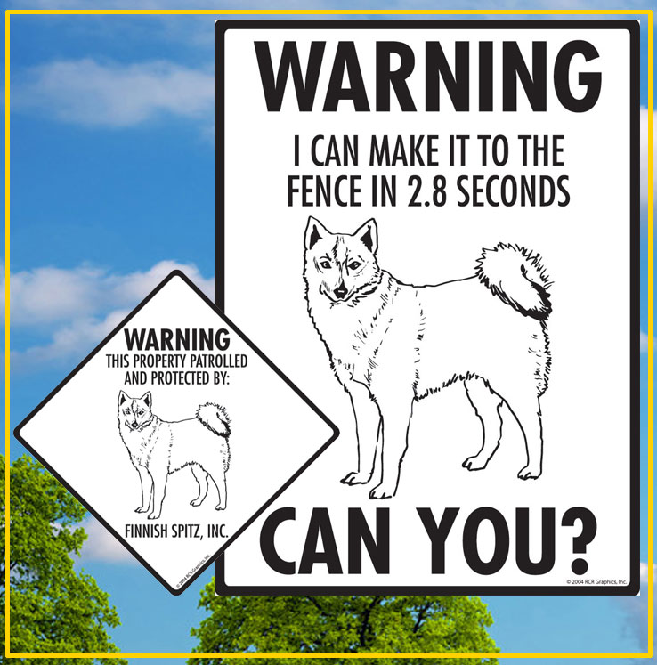 Finnish Spitz Dog Signs