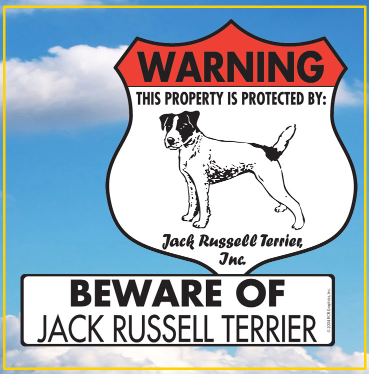 Jack Russell Terrier Dog Signs