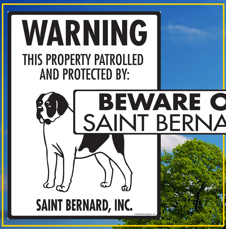 Saint Bernard Signs