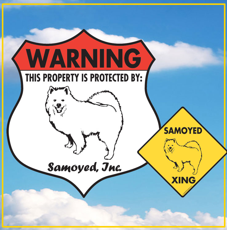 Samoyed Signs