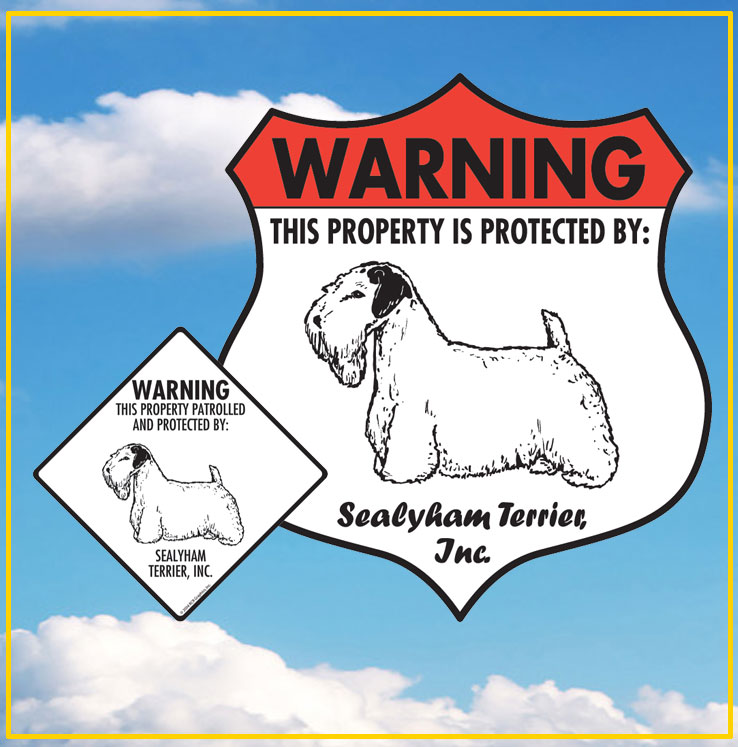 Sealyham Terrier Signs