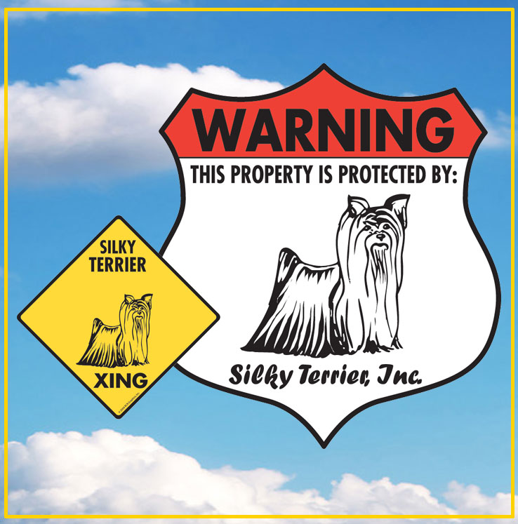 Silky Terrier Signs