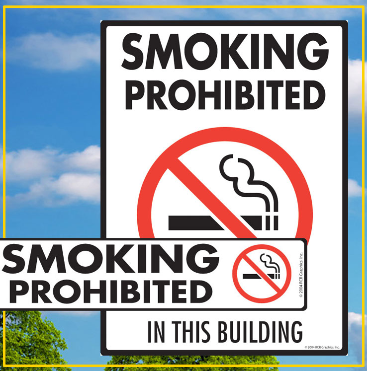 Smoking Prohibited Signs