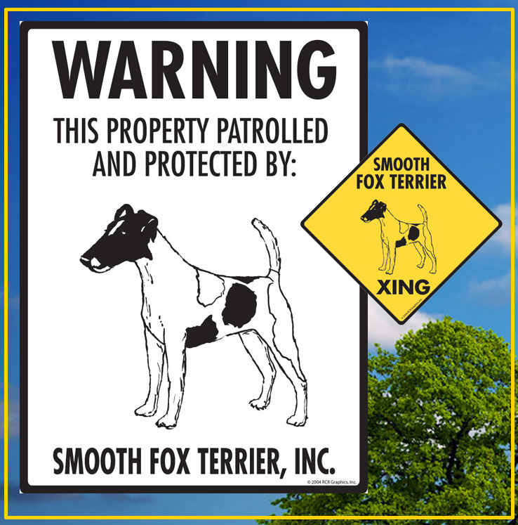 Smooth Fox Terrier Signs
