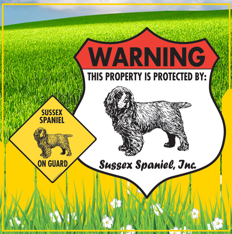 Sussex Spaniel Signs