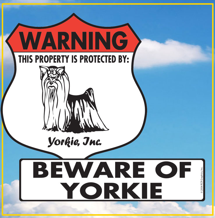 Yorkshire Terrier Signs