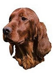 Irish Setter Stickers