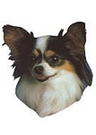 Papillon Stickers