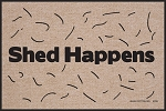 Shed Happens Dog Indoor/Outdoor Doormat