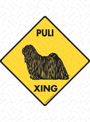 Puli Xing Sign or Sticker