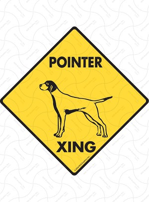 Pointer Xing Sign or Sticker