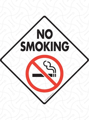 No Smoking Sign or Sticker