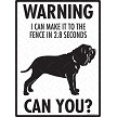 Anatolian Shepherd - Warning! Fence Sign