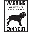 Anatolian Shepherd - Warning! Door Sign