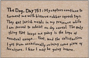 The Dog, Day 751 Doormat