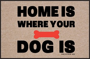Home is Where Your Dog Is Doormat