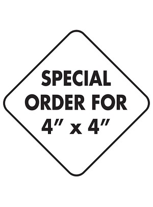 For 4 x 4 Aluminum Sign